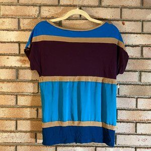 Express Color Block Relaxed Fit T-Shirt